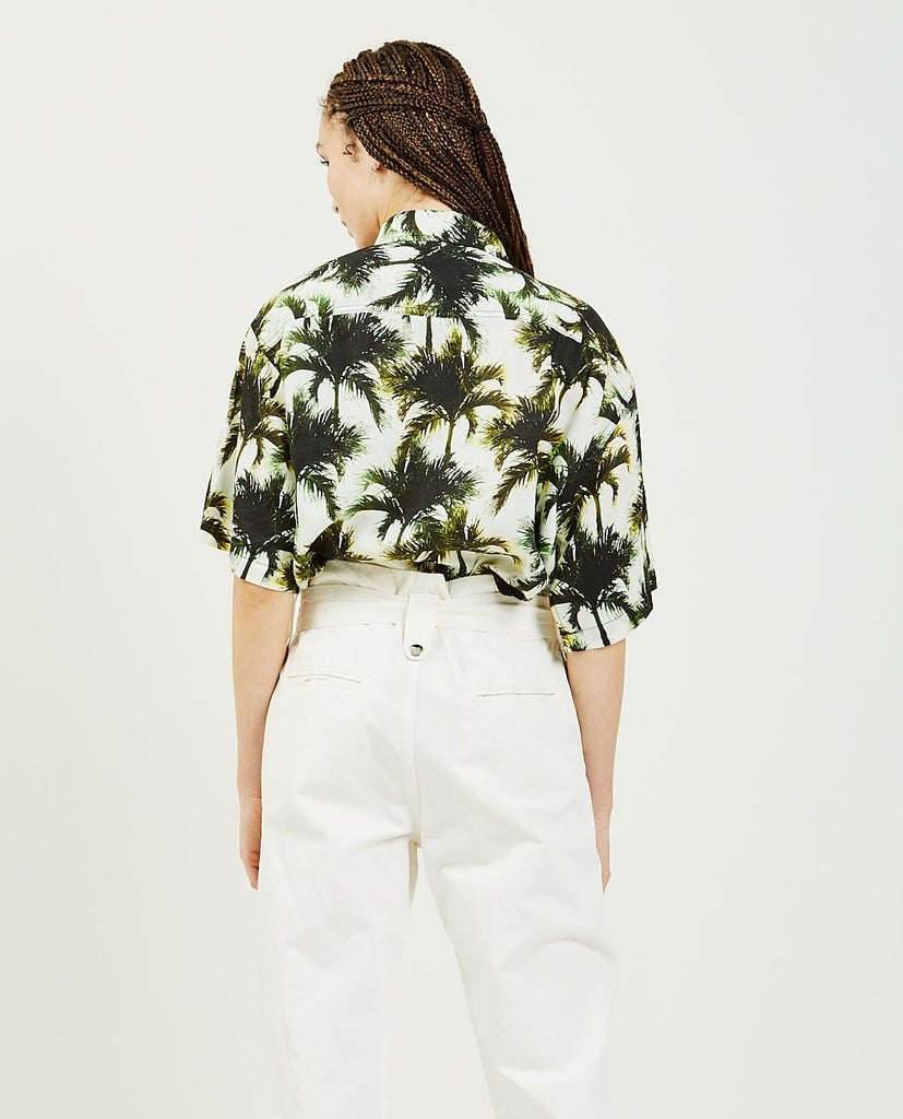 Temescal SS Shirt Neon Palms-OVERLOVER-American Rag Cie