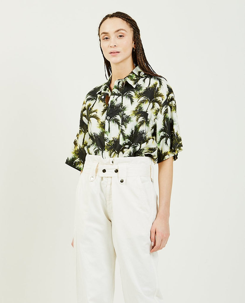 OVERLOVER-Temescal SS Shirt Neon Palms-Blouses-{option1]