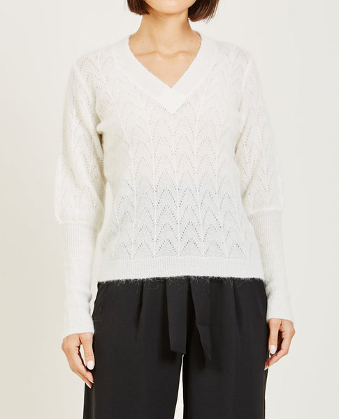 JUST FEMALE TERI KNIT SWEATER