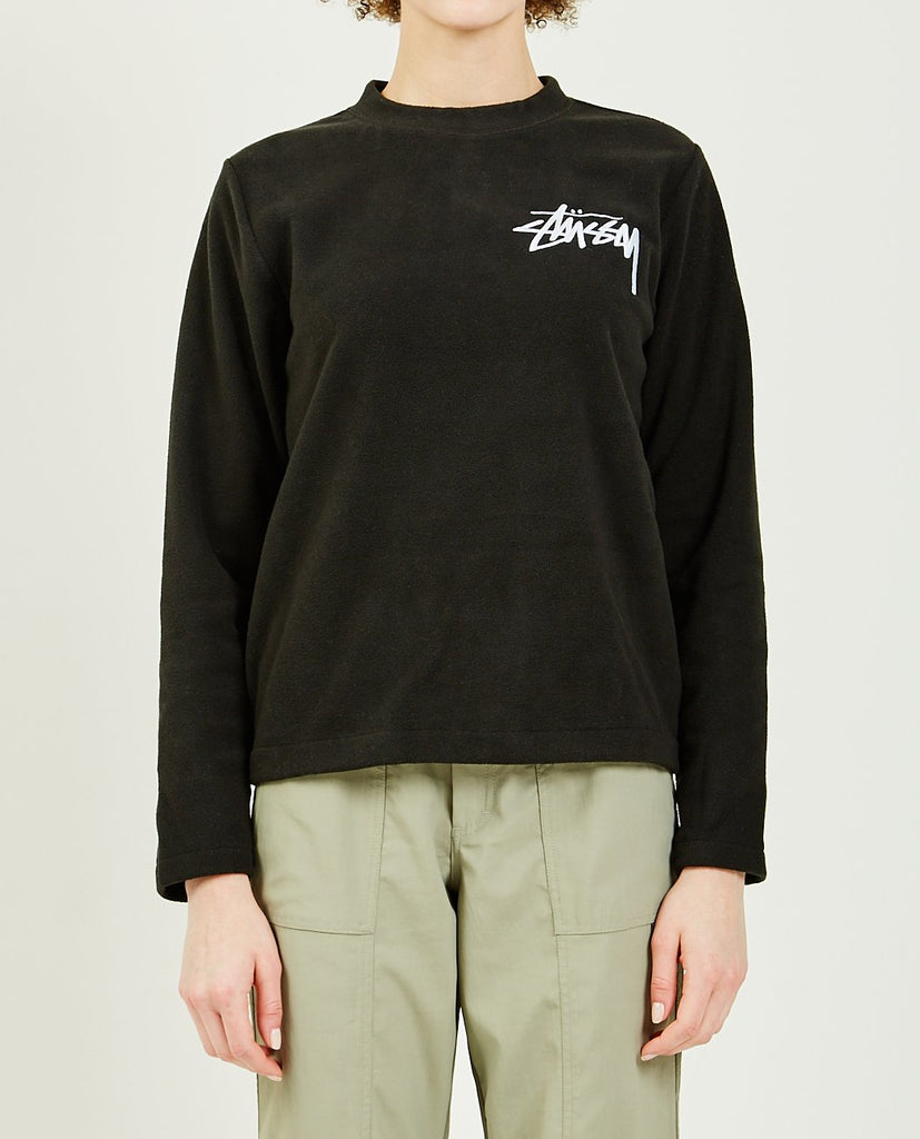 STUSSY-TERRA POLAR FLEECE-Women Sweaters + Sweatshirts-{option1]