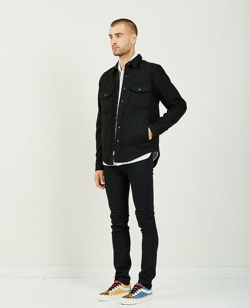 KATO THE ANVIL SHIRT JACKET BLACK