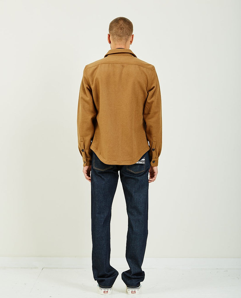 The Anvil Shirt Jacket Camel-KATO-American Rag Cie