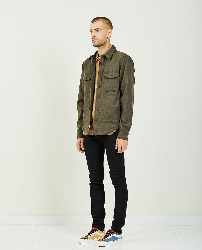 The Anvil Shirt Jacket Green-KATO-American Rag Cie
