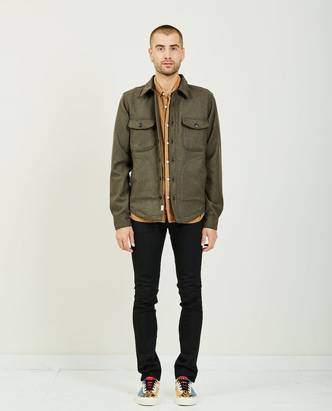 KATO The Anvil Shirt Jacket Green