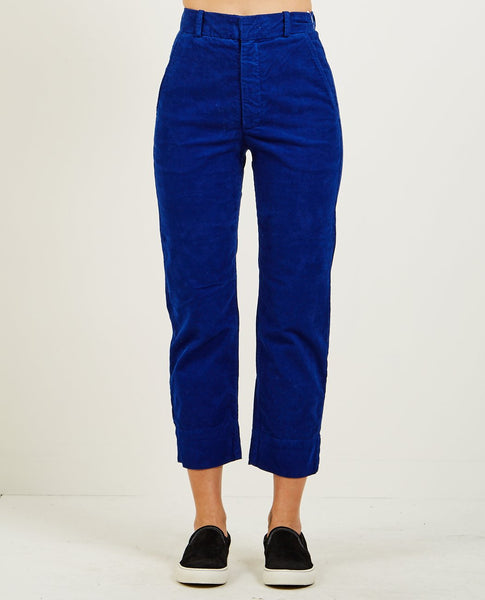 AG JEANS THE ELVIE TROUSER EGYPTIAN BLUE