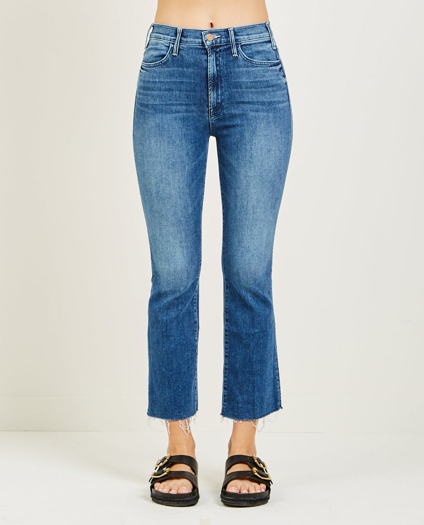 THE HUSTLER ANKLE FRAY JEAN GROOVIN'-MOTHER-American Rag Cie