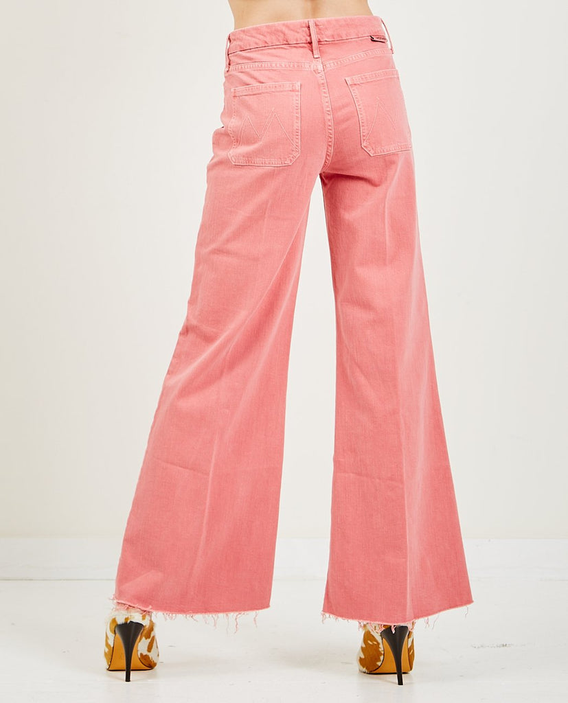 MOTHER-The Patch Pocket Roller Fray-Women Straight-{option1]