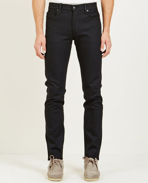KATO THE PEN SLIM JEAN RAW BLACK