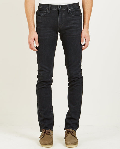 KATO THE PEN SLIM STRAIGHT JEAN CROW BLACK