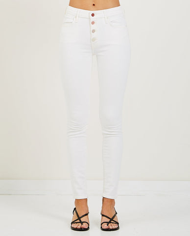 CLOSED STARLET WHITE STRETCH DENIM