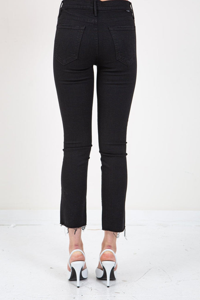 MOTHER-THE RASCAL ANKLE FRAY GUILTY AS SIN-Women Skinny-{option1]