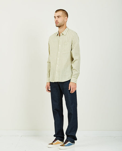 KATO The Ripper Green Gingham Double Gauze