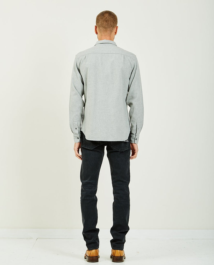 The Ripper Light Gray Chambray Viyella-KATO-American Rag Cie