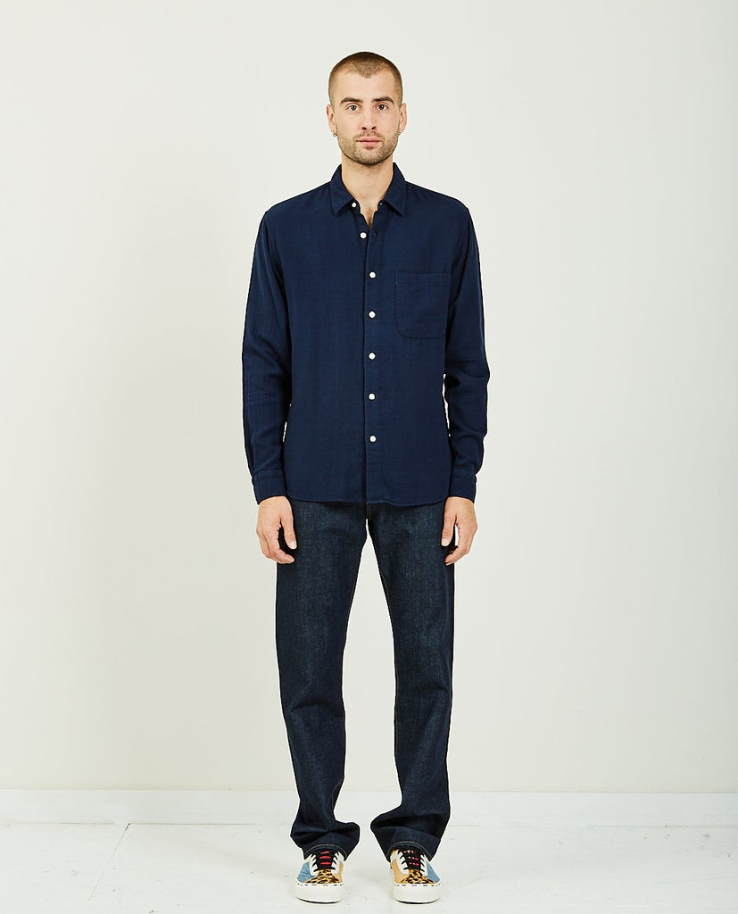 The Ripper Navy Vintage Double Gauze-KATO-American Rag Cie