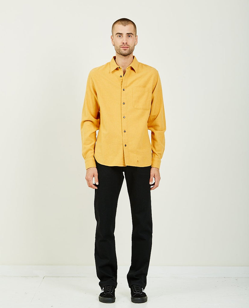 THE RIPPER YELLOW CHAMBRAY VIYELLA-KATO-American Rag Cie