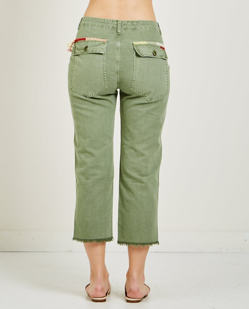 THE STRAIGHT LEG ARMY PANT-THE GREAT-American Rag Cie