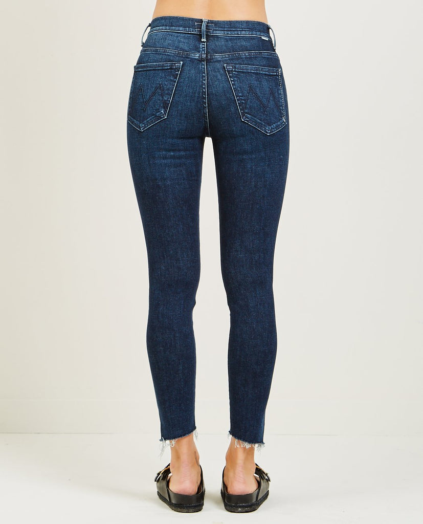 MOTHER-THE STUNNER ANKLE STEP FRAY JEAN DISCO DOLL-Women Skinny-{option1]