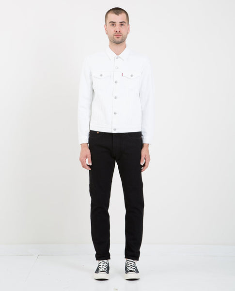 LEVI'S THE TYPE III TRUCKER JACKET WHITE OUT