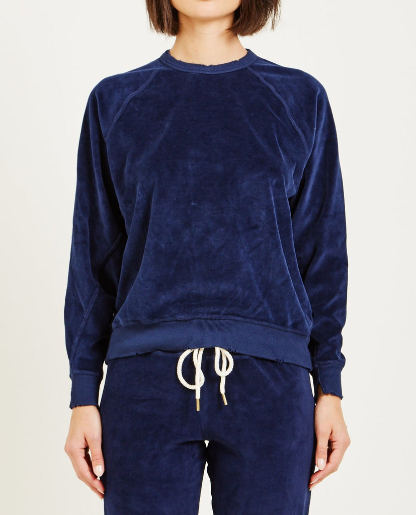THE VELOUR COLLEGE SWEATSHIRT-THE GREAT-American Rag Cie