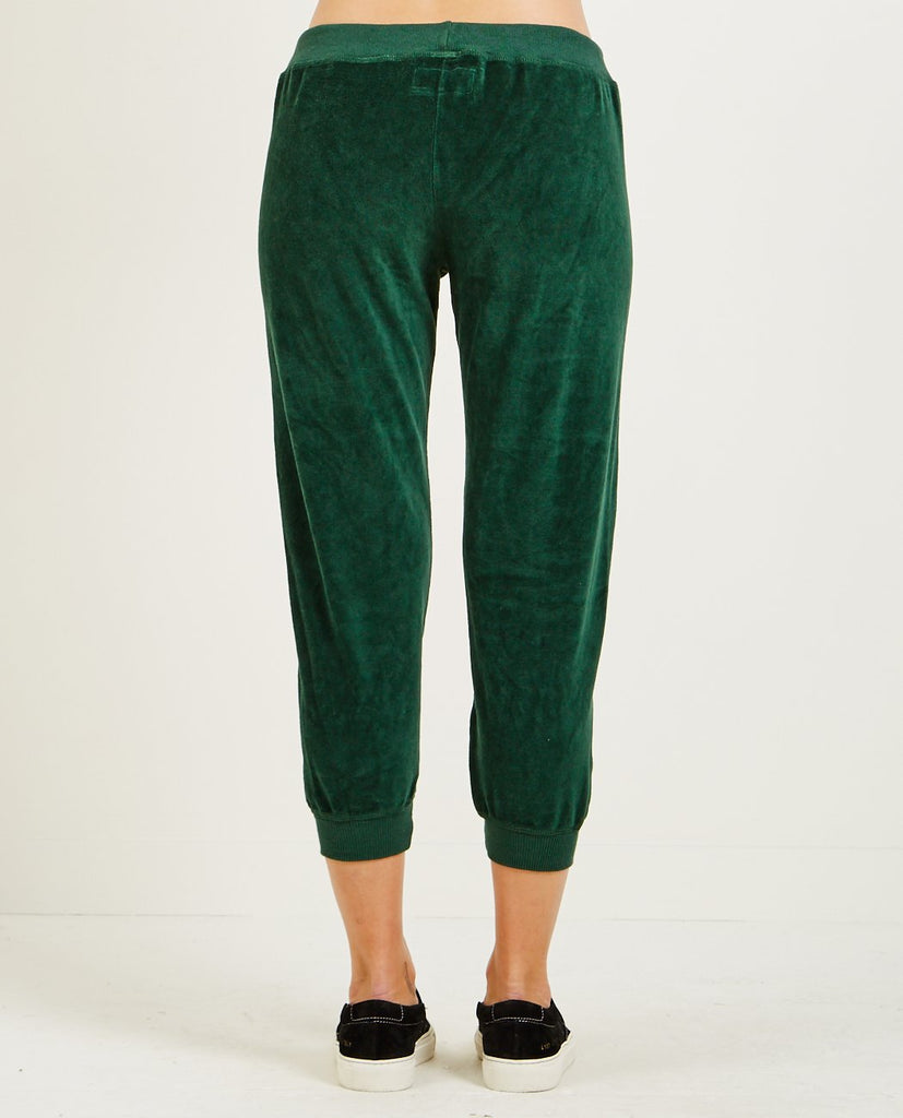 THE GREAT-THE VELOUR CROPPED SWEATPANT-SALE Women Pants-{option1]