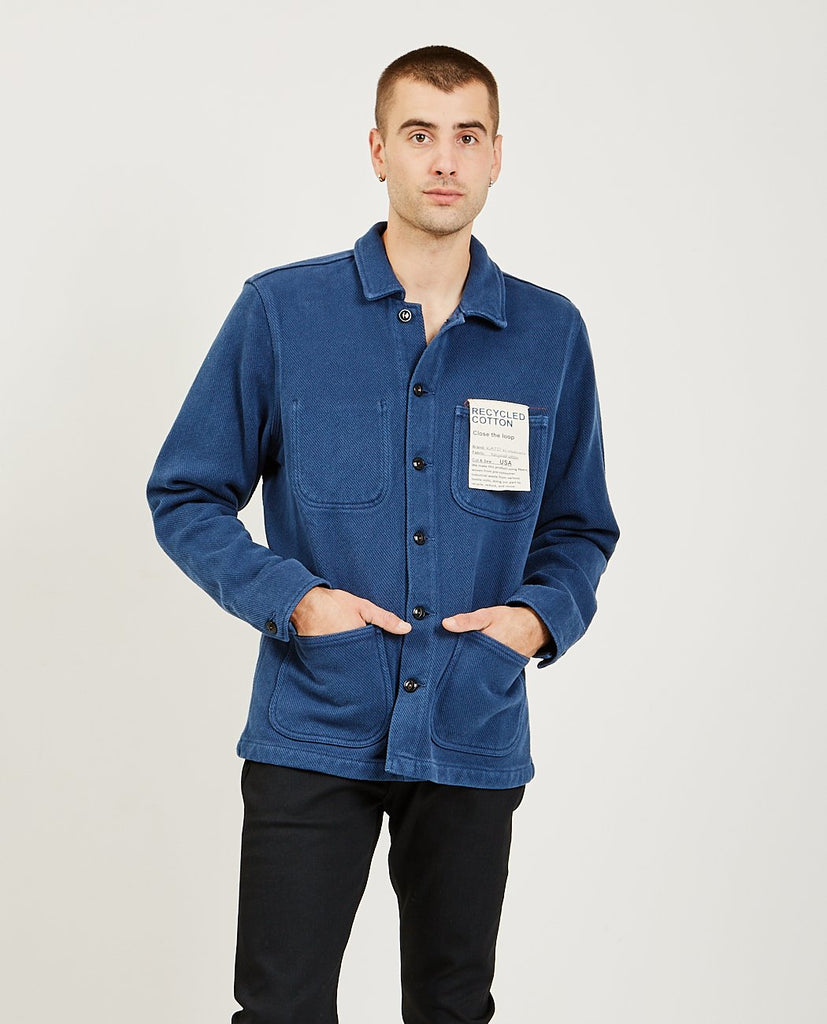 The Vice Chore Jacket Blue-KATO-American Rag Cie