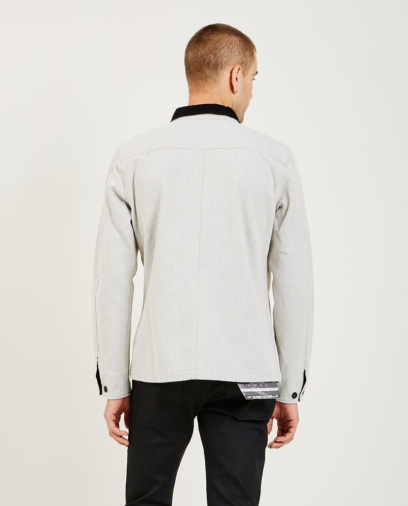KATO-The Vice Chore Jacket Grey-Men Coats + Jackets-{option1]