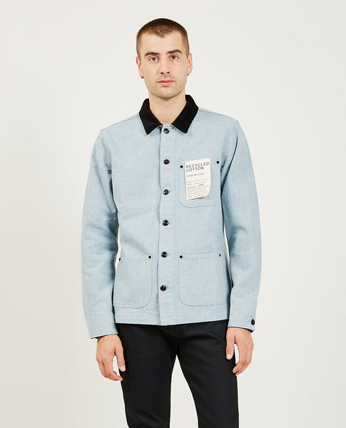 KATO The Vice Chore Jacket Light Blue