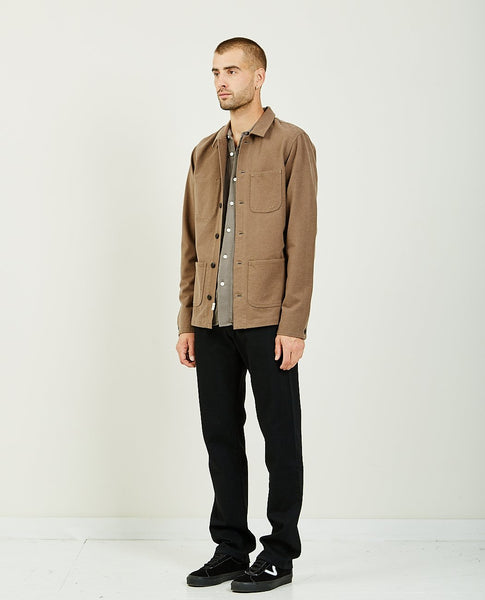 KATO THE VISE CHORE JACKET CAMEL