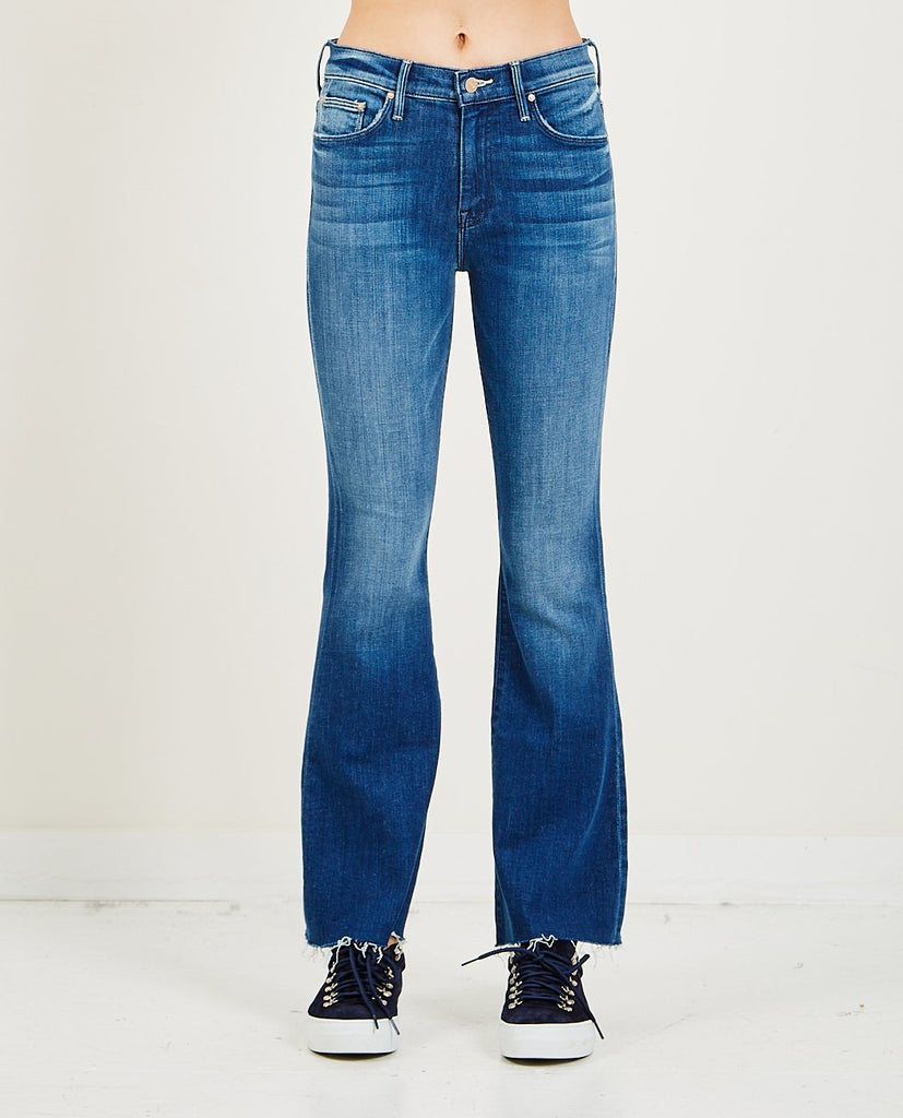 MOTHER-The Weekender Fray-SUMMER20 Women Bootcut-{option1]