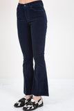 MOTHER-THE WEEKENDER FRAY NAVY-WOMEN BOOTCUT-{option1]