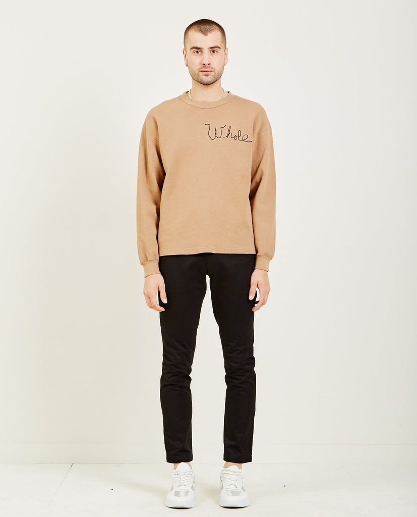 WHOLE-THERMAL LONG SLEEVE GOLD-Men Sweaters + Sweatshirts-{option1]