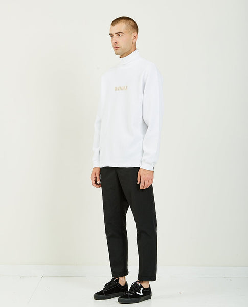 SKIM MILK THERMAL TURTLE NECK