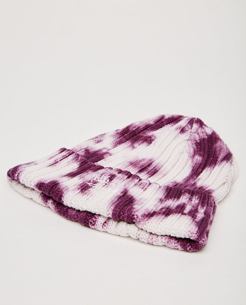 STUSSY-TIE DYE CUFF BEANIE-Men Hats-{option1]
