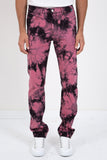 SYNC DENIM-TIE DYE DENIM-Men Pants-{option1]