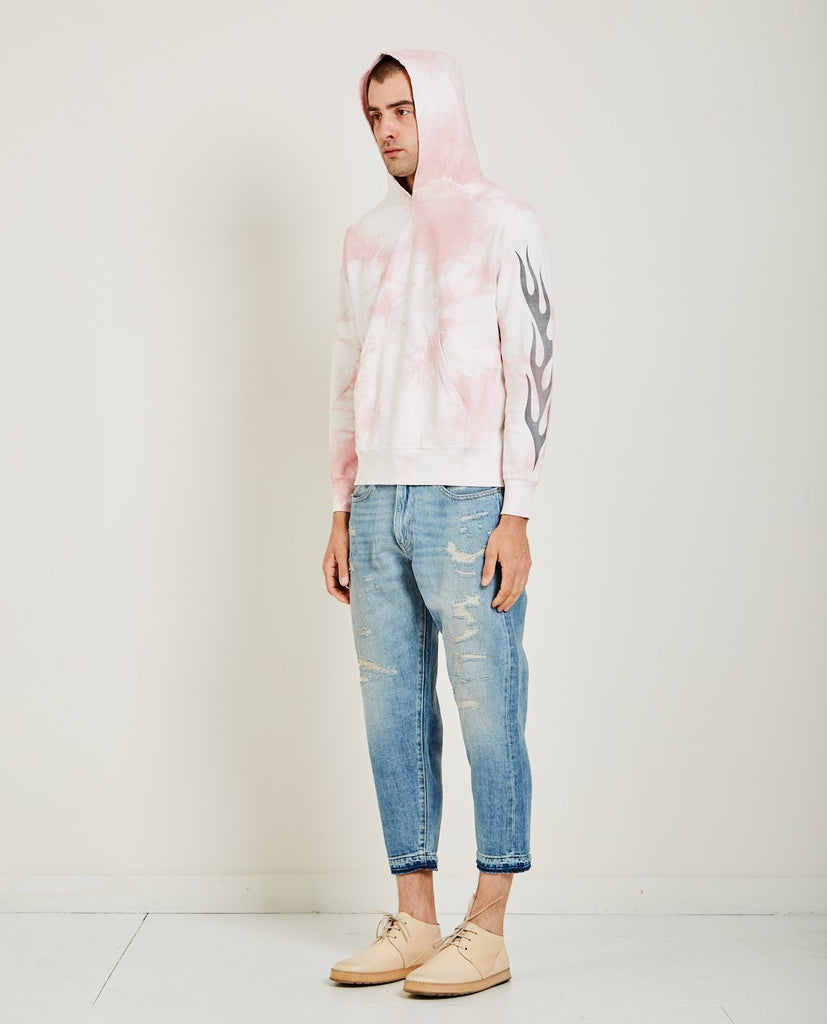 TIE-DYE SPECIAL FINISH HOODIE-REMI RELIEF-American Rag Cie