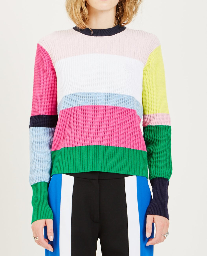 TIGER COLORBLOCK SWEATER-KENZO-American Rag Cie