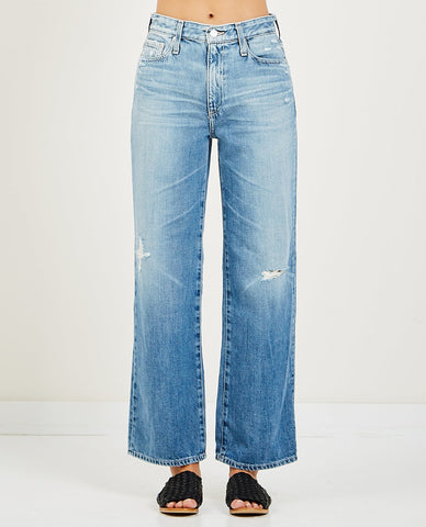HUDSON HOLLY HIGH RISE FLARE JEANS KONA
