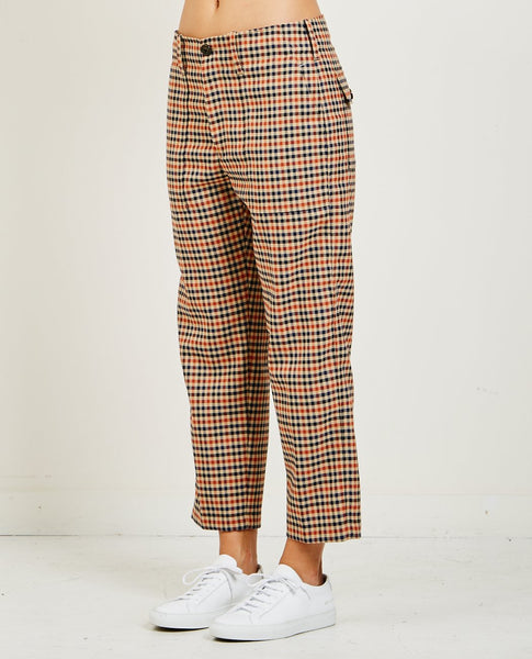 CLOSED TONY PLAID PANTS