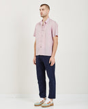 TRES BIEN-TOURIST PRINT POPLIN SHIRT-Men Shirts-{option1]