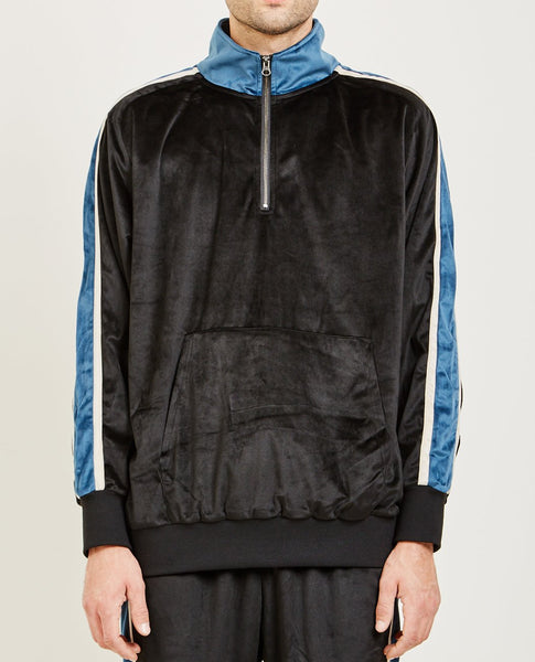 CANDOR TRACK 1/4 ZIP PULLOVER