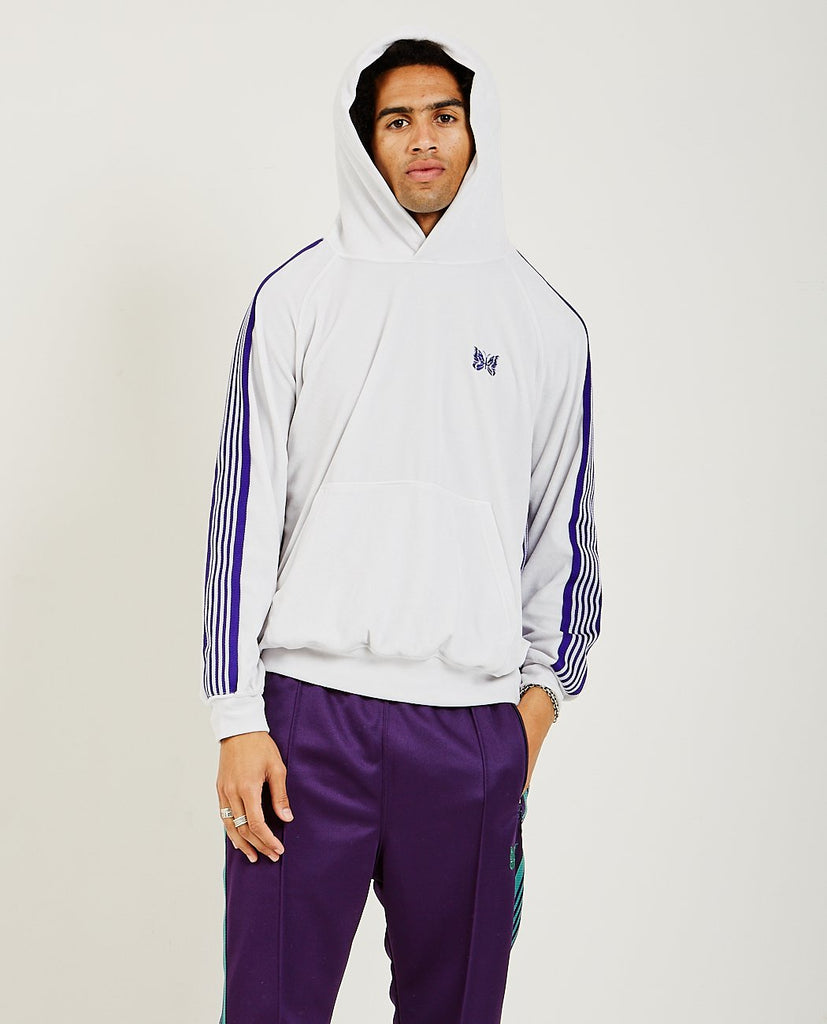 NEEDLES-Track Hoodie-Men Sweaters + Sweatshirts-{option1]