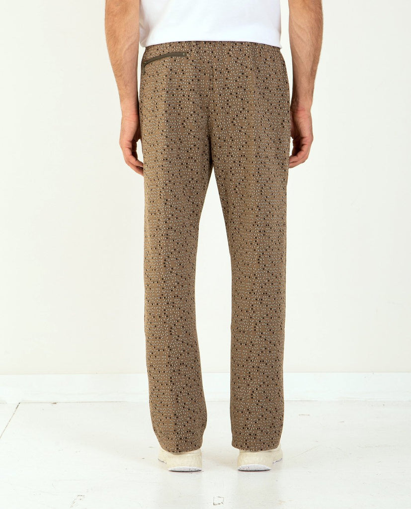 NEEDLES-Track Pant Poly Jacquard-Men Pants-{option1]