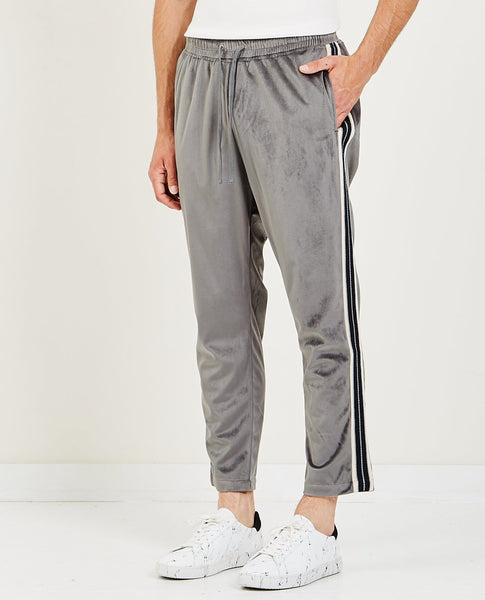 CANDOR Track Pants Blue Grey