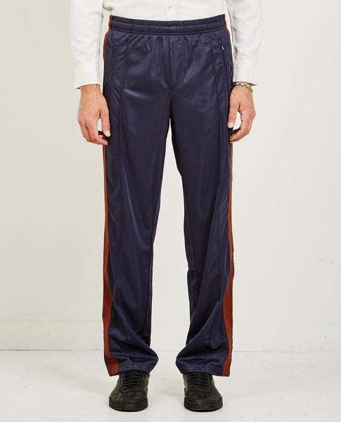 OUR LEGACY TRACK PANTS BROWN SIDE STRIPE