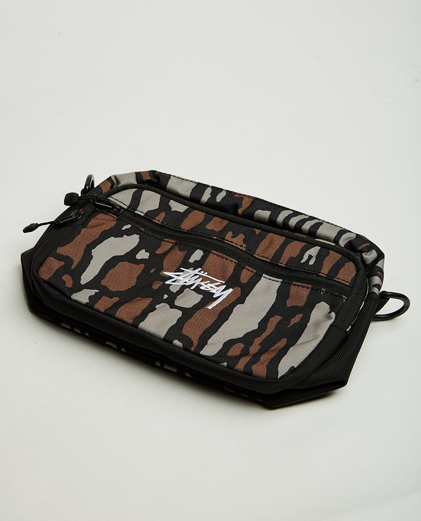 STUSSY TREE BARK SHOULDER BAG