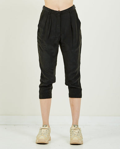 THE GREAT THE GENERAL PANT ALMOST BLACK