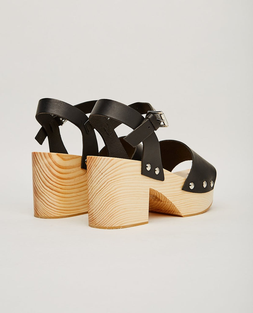 INTENTIONALLY BLANK-TULA LEATHER CLOG-Heels + Wedges-{option1]
