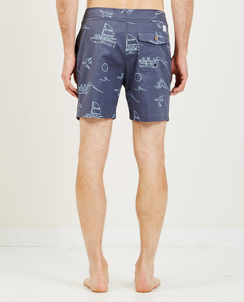 BANKS JOURNAL-Ty Williams Calypso Boardshort-Men Swimwear-{option1]