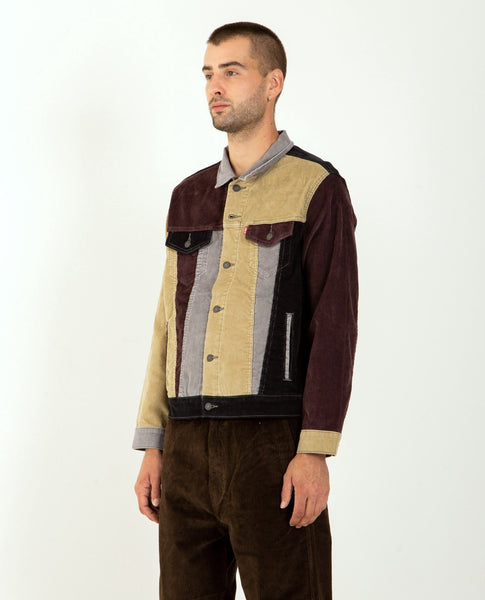 LEVI'S Type III Trucker Jacket Color Block