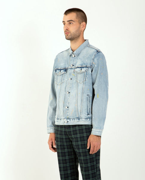 LEVI'S Type III Trucker Jacket Paint